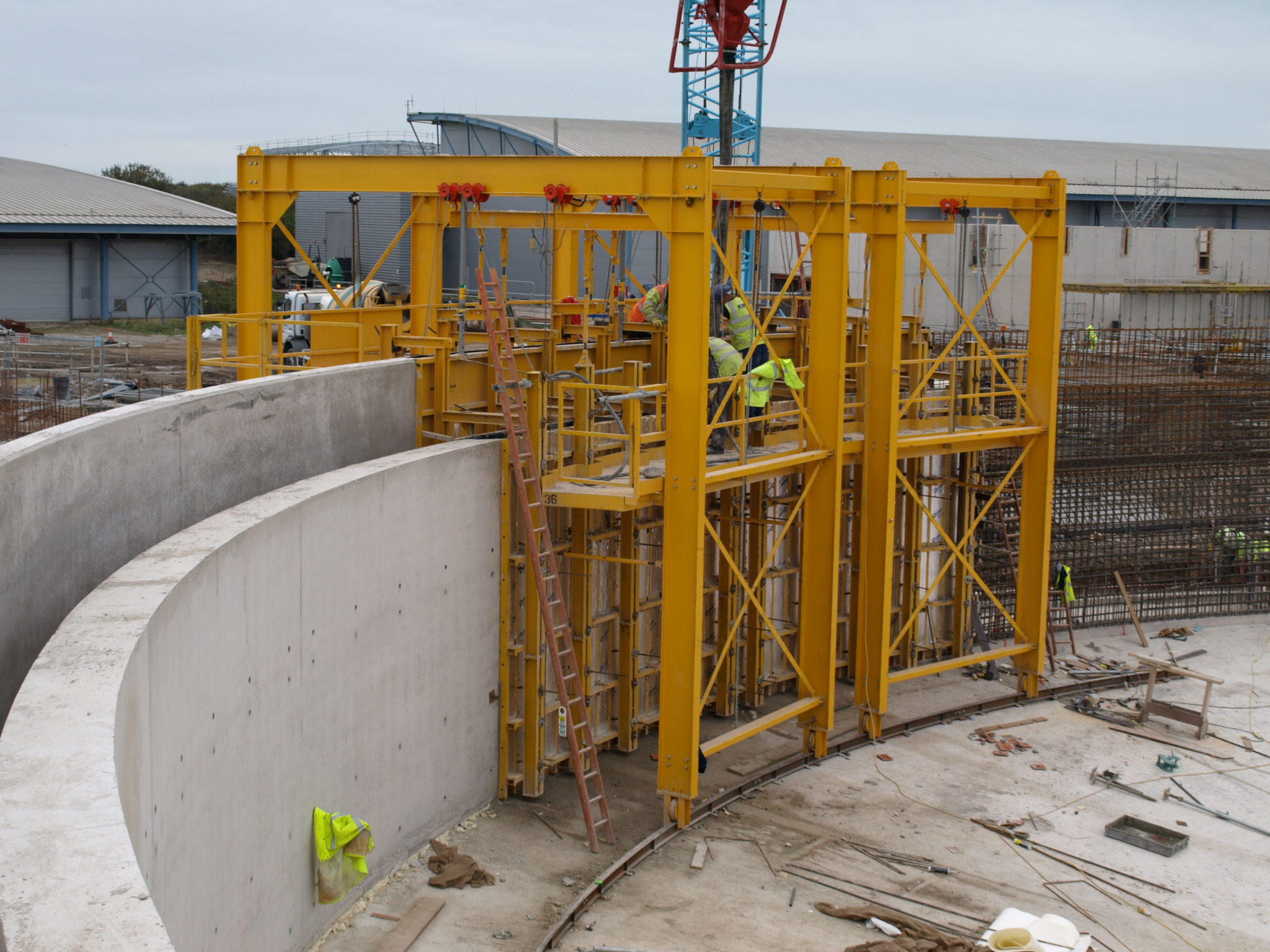 steel walls formwork